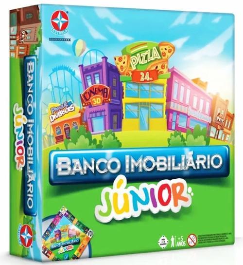 JOGO BANCO IMOBILIARIO JUNIOR 0020 ESTRELA