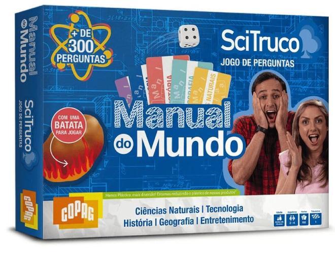 JOGO MANUAL DO MUNDO SCI TRUCO 98466 COPAG