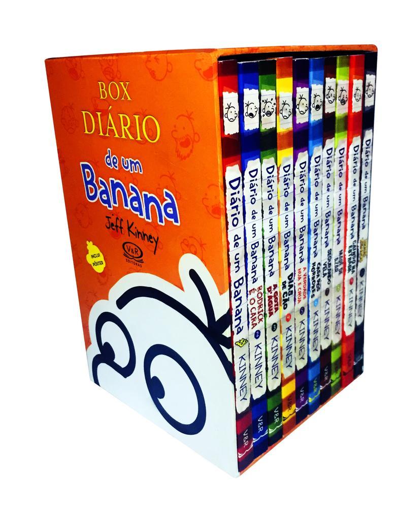 BOX DIARIO DE UM BANANA - 10 VOLS - VERGARA E RIBA