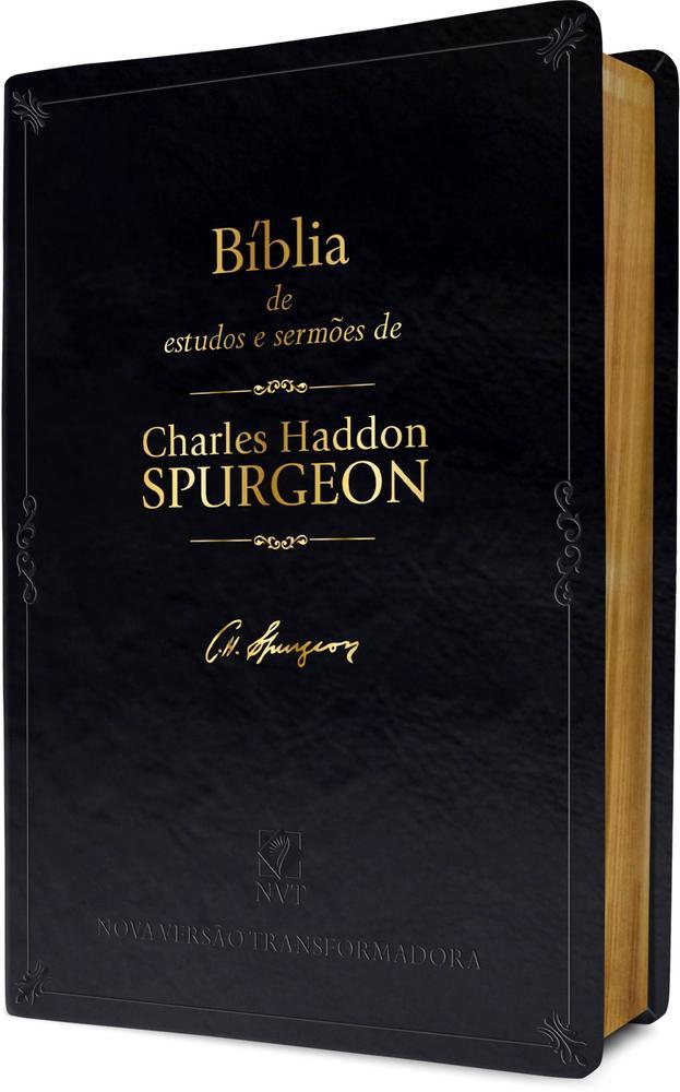 BIBLIA DE ESTUDO - COM SERMOES DE CHARLES SPURGEON