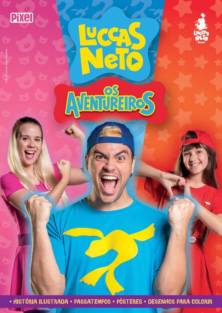 LUCCAS NETO - OS AVENTUREIROS - PIXEL