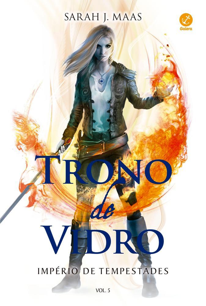 TRONO DE VIDRO - IMPERIO DE TEMPESTADES - VOL 5 -