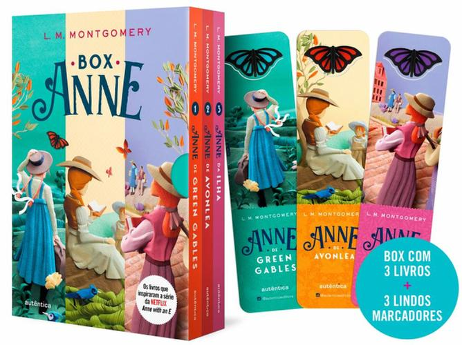 BOX - ANNE DE GREEN GABLES - AUTENTICA