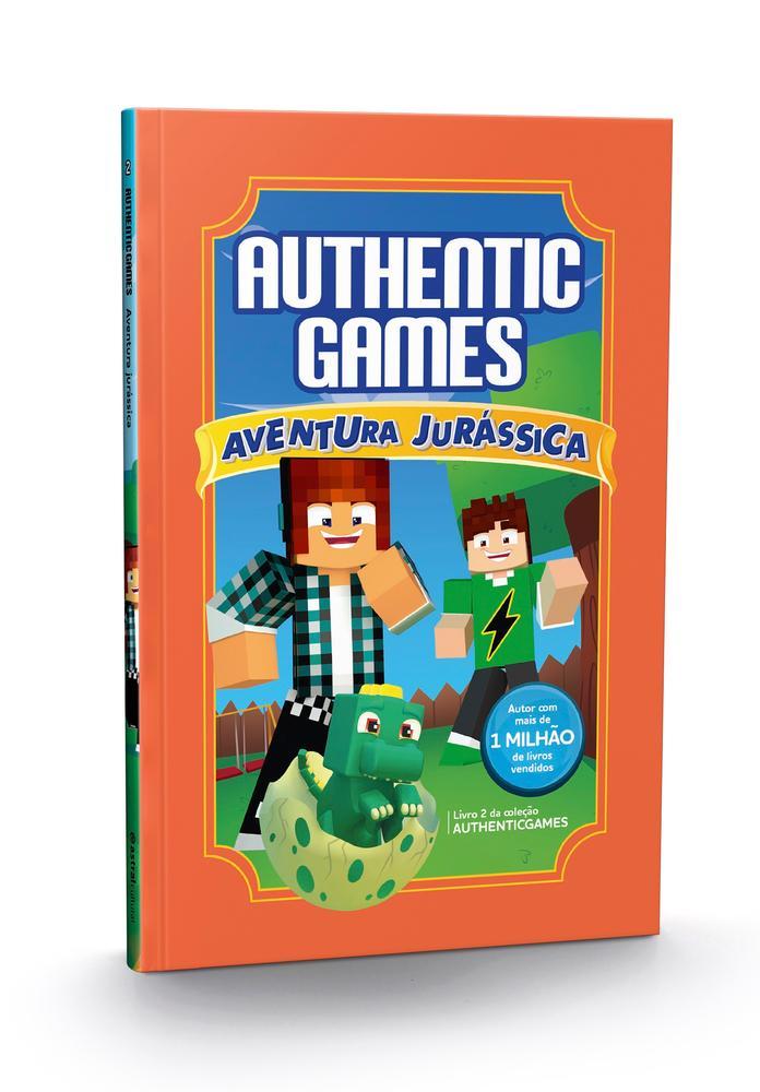 AUTHENTIC GAMES - AVENTURA JURASSICA - VOL 2 - AST