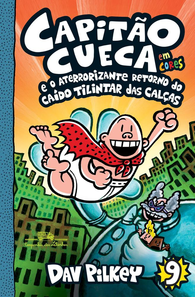 CAPITAO CUECA - VOL 9 - EM CORES - CIA DAS LETRINH