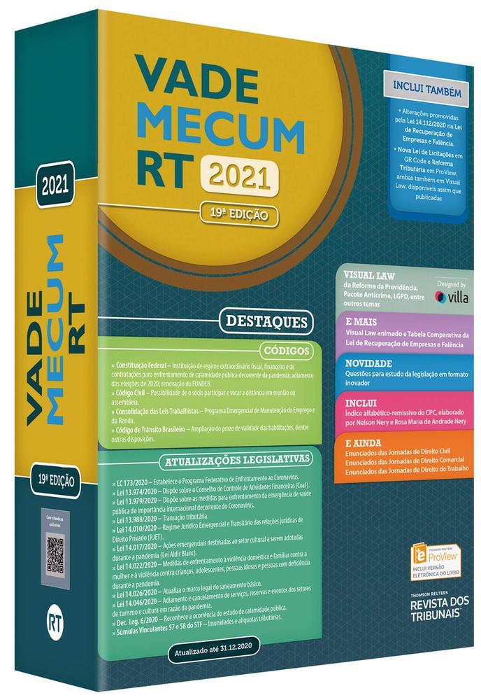VADE MECUM RT 2021 - RT