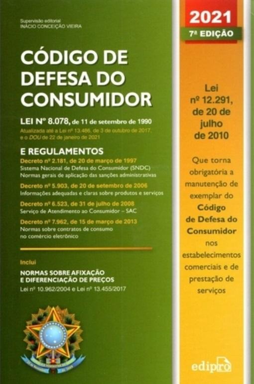 CODIGO DE DEFESA DO CONSUMIDOR 2021 - LIPEL