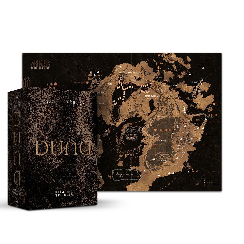 BOX DUNA - PRIMEIRA TRILOGIA - ALEPH