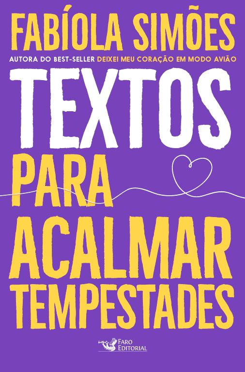 TEXTOS PARA ACALMAR TEMPESTADES - FARO