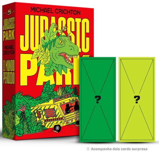 BOX JURASSIC PARK - COM BRINDE - ALEPH