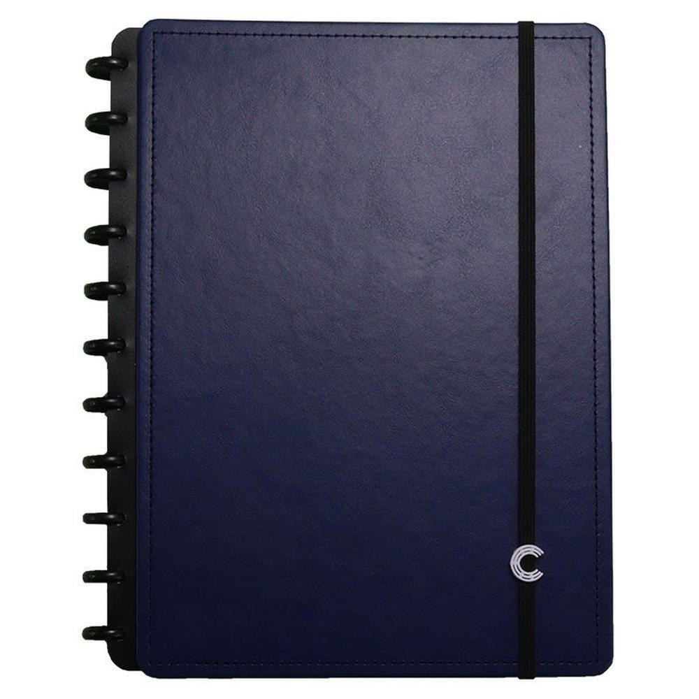 CADERNO INTELIGENTE 80F G DARK BLUE 4099 CLAPPER