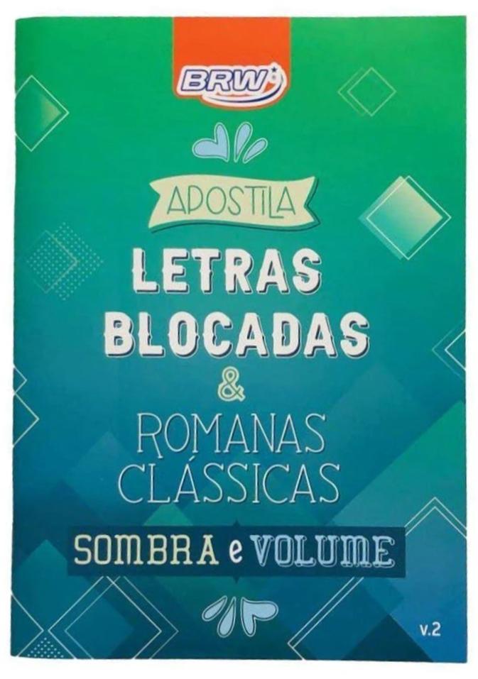 APOSTILA LETRAS BLOCADAS APL002 BRW
