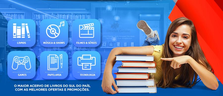 O maior acervo de livros do sul do paós, com as melhores ofertas e promoções.